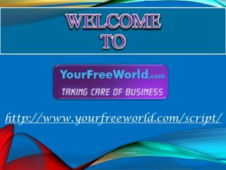 Your Free World Script