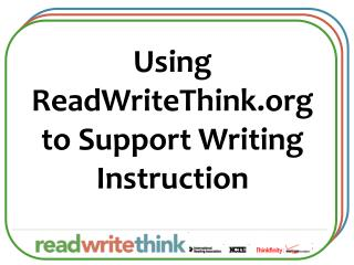 Using ReadWriteThink to Support Writing Instruction