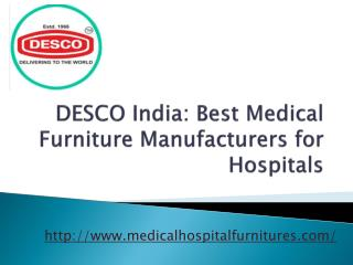 Medical Furniture Manufacturers