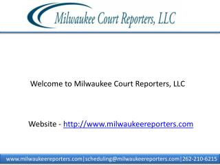 Court reporting firm in milwaukee