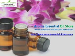 Bulk organic essential oils at aromaessentialoilstore.com