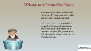 Hire SEO Experts India | AResourcePool