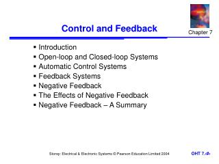 Control and Feedback
