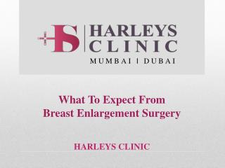 What To Expect From Breast Enlargement Surgery