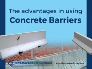 Importance of Using Concrete Barriers - Read Now!