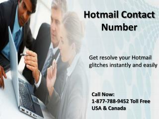 Get easy support Call {[1^877^788^9452]} Hotmail contact number