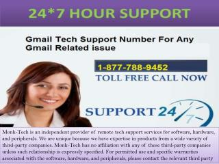 Call now on Gmail Tech Support number 18777889452.pptx