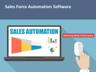 Sales Automation, Sales CRM Software
