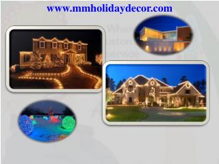 Commercial & Residential, Landscape and Restaurant Lighting Installation, Electrical Contractor, Exterior, Holiday, Mard