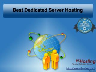Best Dedicated Server Hosting - RS Hosting