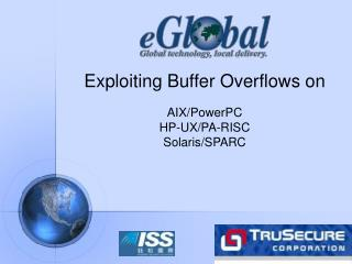 Exploiting Buffer Overflows on