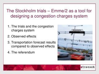 The Stockholm trials   Emme
