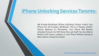 Best iPhone Unlocking Services Toronto