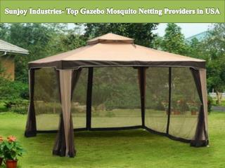 Sunjoy Industries- Top Gazebo Mosquito Netting Providers in USA