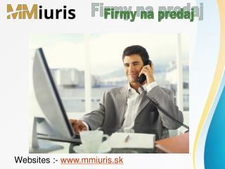 Inštrukcie a pokyny k predaju firmy v Slovenská republika