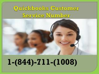 Call :-1-844-711-1008 Quickbooks Technical Support Number