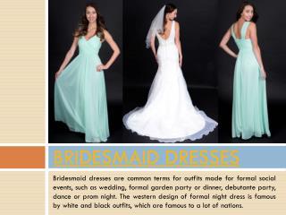Bridesmaid Dress Brisbane