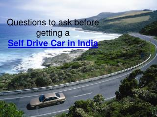 Self Drive Car in India with Voler Cars