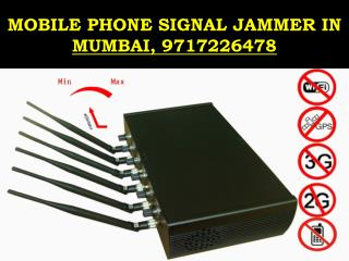 Mobile Phone Signal Jammer, 9717226478