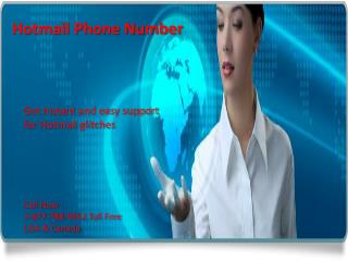 Get easy support Call {[1^877^788^9452]} Hotmail phone number
