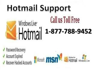 Contact Hotmail support tollfree 1-877-788-9452 number to get instant email support