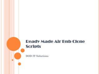 Air bnb clone scripts