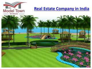 Real Estate Company in India