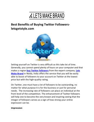 Buy real twitter followers- letsmakebrand.com
