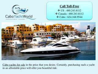 Cabo Yachts For Sale