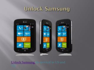 unlock phone services in USA and Uk