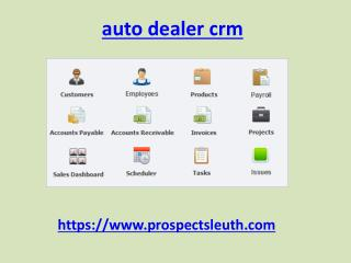 CRM Software Solutions online lead management