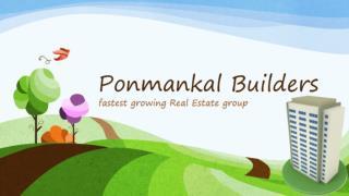 Ponmankal builders | Leading Builders Kottayam