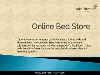 Rainforestitaly Online Bed Store