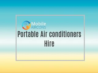 Portable Air conditioners Hire
