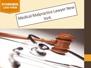 medical malpractice attorney NYC