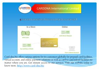 Best card to card transfer at card dna.biz