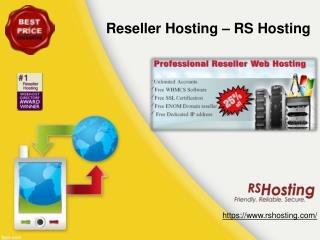 Reseller Hosting - RS Hosting