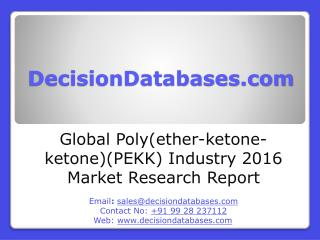Poly(ether-ketone-ketone)(PEKK) Market Analysis 2016 Development Trends