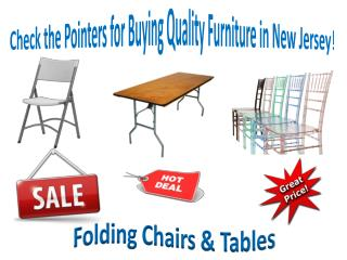 Check the Pointers for Buying Quality Furniture in New Jersey
