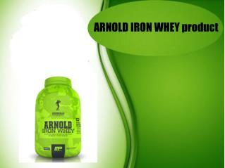 ARNOLD IRON WHEY product