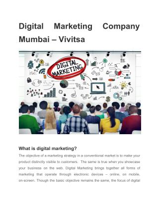 Digital Marketing Services in Mumbai