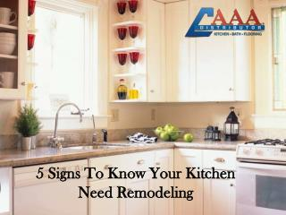 5 Signs That Show You It's Time to Remodel