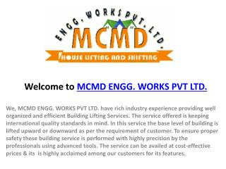 MCMD ENGG. WORKS PVT LTD.