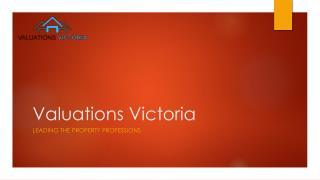 Online property valuations | property valuation Australia | property valuation company