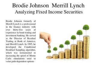 Brodie Johnson  Merrill Lynch Analyzing Fixed Income Securities