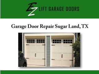 Garage Door Repair Sugar Land, TX