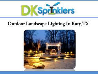 Outdoor Landscape Lighting In Katy, TX