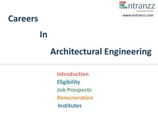 Careers In Architectural Engineering