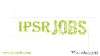 Ipsr jobs | Latest Job Vacancies