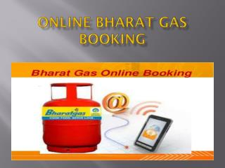 Online Bharat Gas Booking